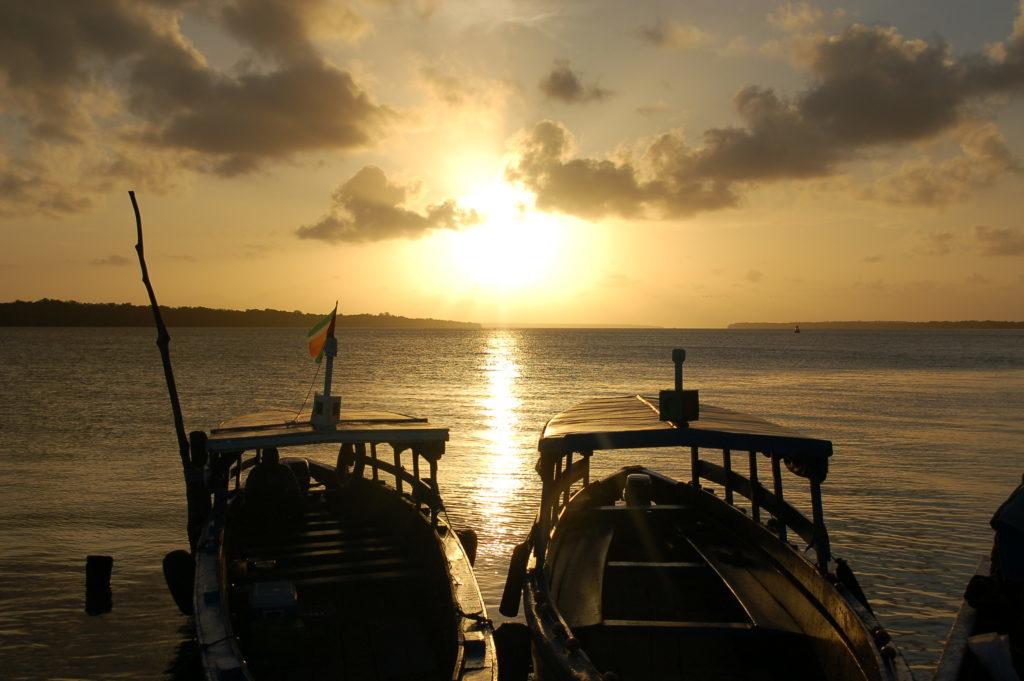 1.9.5 Sunset & Dolphins Trip - Suriname rondreis Around The World Travel