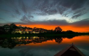 Amazon Sunset Around The World Travel