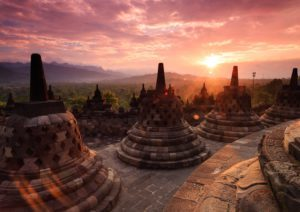 Borobudur Around The World Travel
