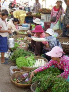 Dag 3 lokale markt Cambodja ATWT