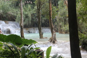 Kuangsi Waterval Laos - Around The World Travel