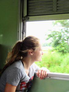 Treinreis Ayuttaya thailand