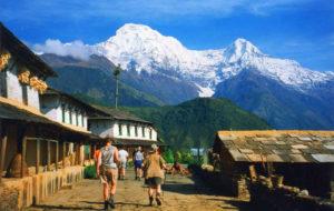 Gandruk village pokhara trek Nepal Around The World Travel