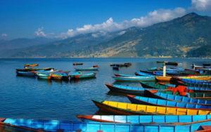 pokhara Nepal phewa lake Around The World Travel