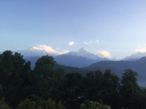 view from Dhampus Nepal Around The World Travel