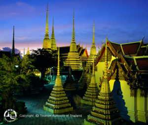 Bangkok Wat Pho 1 - Thailand rondreis Around The World Travel