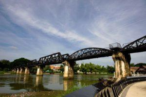 Kanchanaburi River Kwai Bridge - Thailand rondreis Around The World Travel