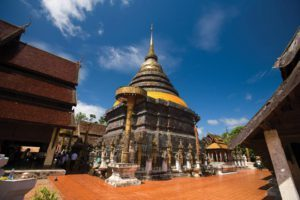 Lampang Wat Phra That Lampang Luang - Thailand rondreis Around The World Travel