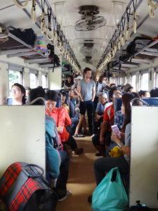 Trein Thailand around The World Travel