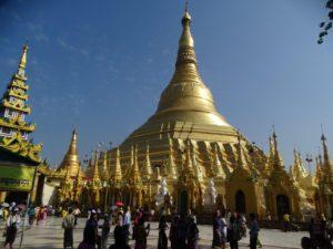 Day 13 Yangon - Shwedagon Pagoda - Myanmar rondreizen Around The World Travel