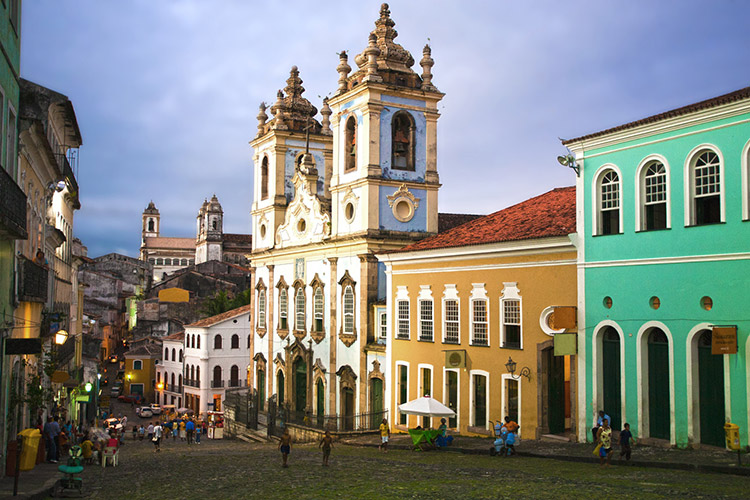 salvador-de-bahia - Brazilie - rondreis Around The World Travel