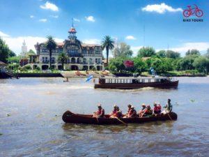 03 Met de trein naar Delta Tigre met fiets- en kanotocht inclusief lunch | Patagonie rondreis argentinie - Around The World Travel