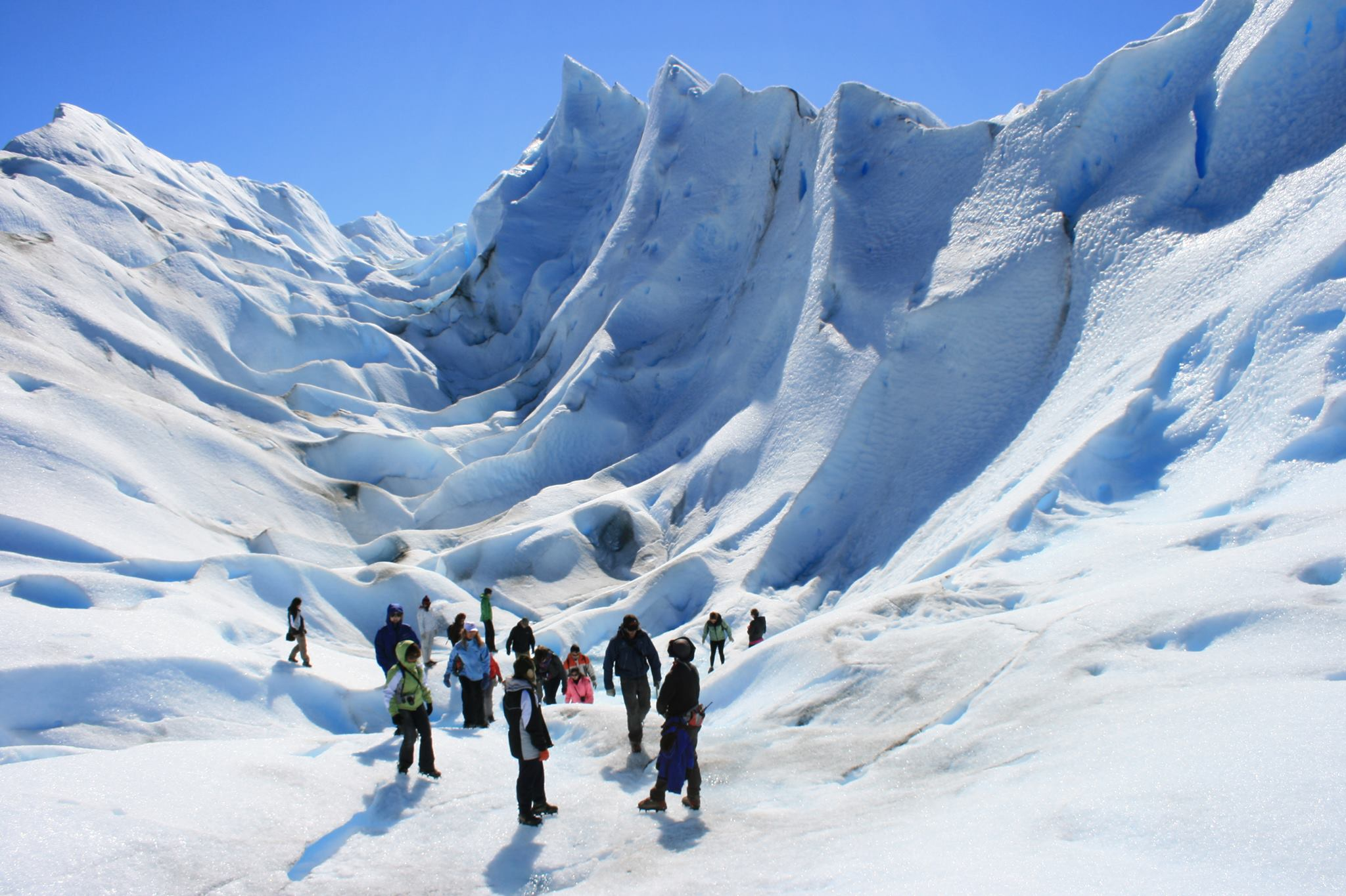 11 Minitrekking over de Perito Moreno gletsjer | Patagonie rondreis argentinie - Around The World Travel