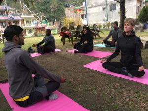 Nepal rondreis op maat yoga